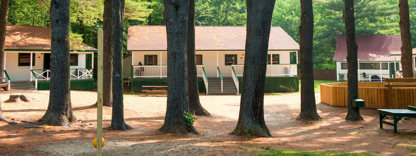 cabins at Camp Mataponi