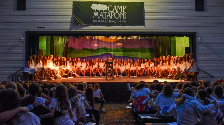 Mataponi campers participate in all camp services